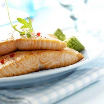 Lachsteller Foodstyling Rezept